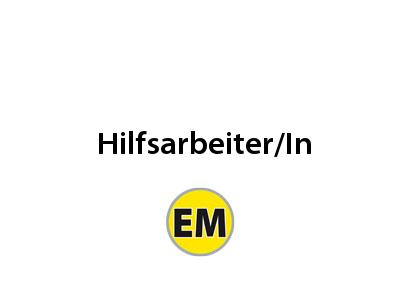 Hilfsarbeiter/in