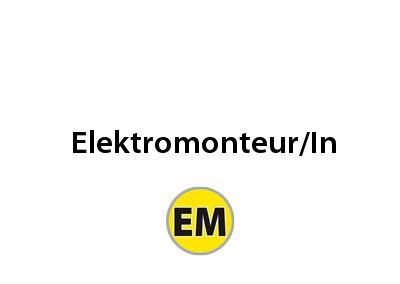 ELEKTROMONTEUR/IN